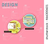 graphic and web design concept...