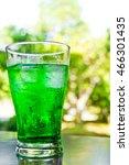 melon soda | Shutterstock . vector #466301435