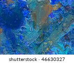 hand paint abstract background | Shutterstock . vector #46630327