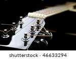 details of  acoustic black... | Shutterstock . vector #46633294