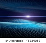 perspective abstract background....   Shutterstock . vector #46634053