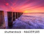 Baltic Sea Coast At Colorful...