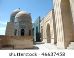 complex the shah rizinda | Shutterstock . vector #46637458