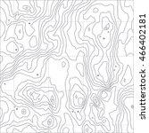 topographic map texture. wavy... | Shutterstock .eps vector #466402181