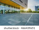 empty brick floor with... | Shutterstock . vector #466439651