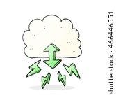 freehand drawn cartoon digital... | Shutterstock . vector #466446551