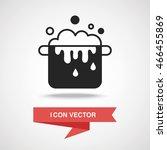 pot icon | Shutterstock .eps vector #466455869