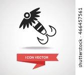fishing bait icon | Shutterstock .eps vector #466457561