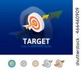 target color icon  vector...