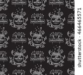 vector seamless pattern ... | Shutterstock .eps vector #466465571