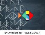 leadership and creativity... | Shutterstock . vector #466526414