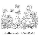 vector illustration zentangl...   Shutterstock .eps vector #466544537