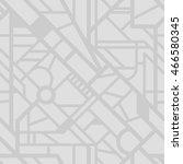 seamless city map pattern.... | Shutterstock .eps vector #466580345
