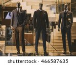 Men Suits In A Luxury Clothing...
