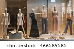 clothing store | Shutterstock . vector #466589585