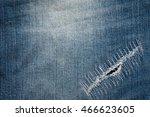 Texture Of Vintage Blue Jeans...
