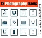 photography icon set. shadow...