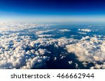 aerial view of planet earth as...