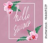 summer   Shutterstock . vector #466669229