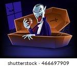 vampire | Shutterstock .eps vector #466697909
