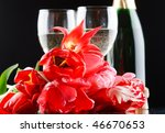 tulips and fizz | Shutterstock . vector #46670653