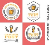 set of badges  banner  labels... | Shutterstock .eps vector #466716839
