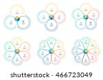 Outline Circular Infographics....