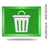 trash can icon. internet button.... | Shutterstock . vector #466766234