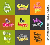 Lifestyle Quotes. Typography...