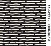 vector seamless black and white ...   Shutterstock .eps vector #466824491