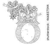 vector cute fairy doodle...   Shutterstock .eps vector #466837544