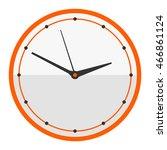 clocks face dial watch alarm... | Shutterstock .eps vector #466861124
