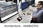 register enquiry online web... | Shutterstock . vector #466862501