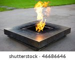 memorial fire | Shutterstock . vector #46686646