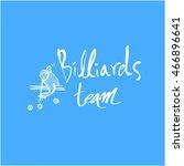 sports pictogram | Shutterstock .eps vector #466896641