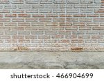 old brick wall | Shutterstock . vector #466904699