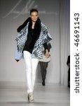 new york   february 13  model...   Shutterstock . vector #46691143