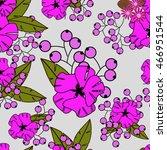 flowers   Shutterstock .eps vector #466951544