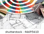 palette of colors designs for... | Shutterstock . vector #46695610
