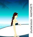 summer holidays vector... | Shutterstock .eps vector #466956875