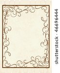 vintage frames for text. | Shutterstock .eps vector #46696444