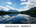bluff lake canada bc | Shutterstock . vector #4669672