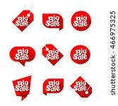 set of design elements for big... | Shutterstock .eps vector #466975325