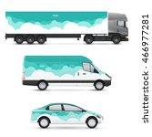 set of design templates for... | Shutterstock .eps vector #466977281