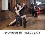Tango Dancers Performing While...