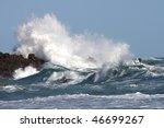 Stormy Seas And Crashing Waves...