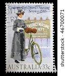 australia   circa 1985  a stamp ... | Shutterstock . vector #46700071