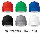 caps. baseball caps | Shutterstock .eps vector #46701583
