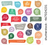modern badges and labels... | Shutterstock .eps vector #467024231