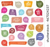 modern badges and labels... | Shutterstock .eps vector #467024237